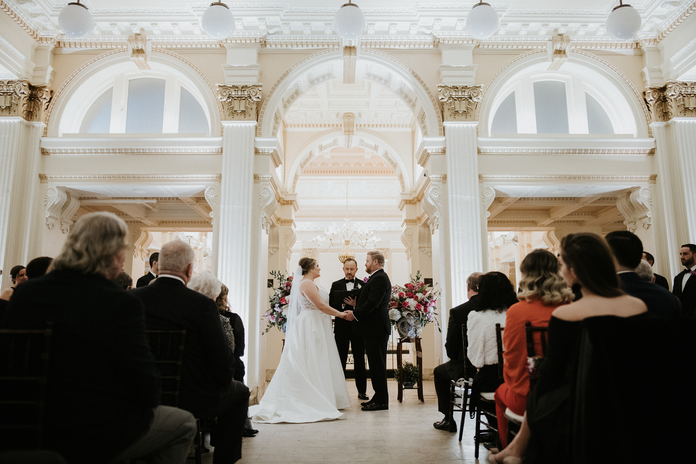 Providence Public Library Wedding Photos